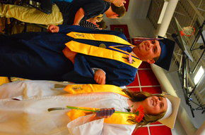 Profile School: Class Of 2015 Bestowed Governor's Proclamation For Giving