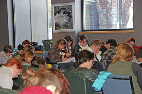SJA Creative Writing Students Participate In Playwriting Workshop