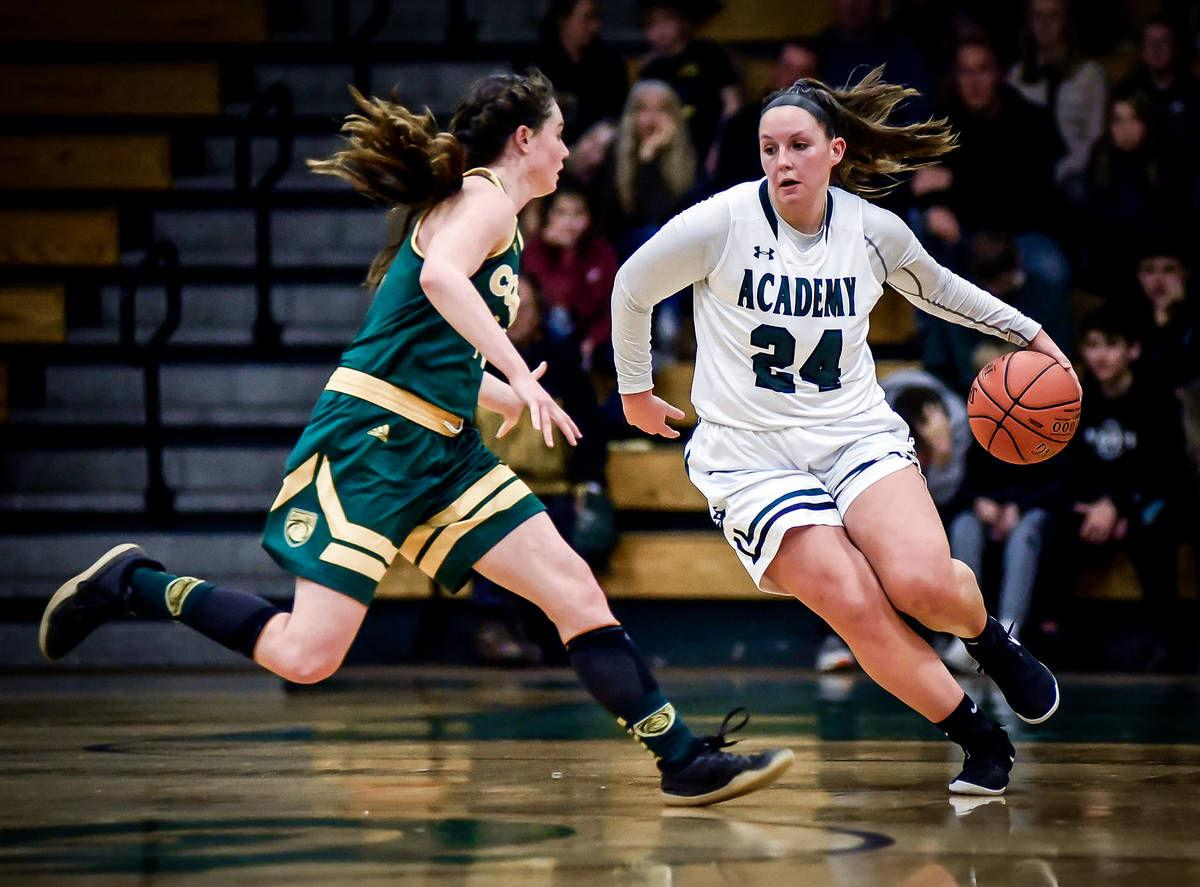 St. Johnsbury Academy's Josie Choiniere: The Record's 2019-20 Girls Basketball Player of the Year