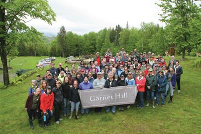 Garnet Hill Employees Help Ready Copper Cannon For Summer Campers
