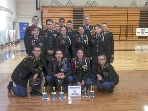 White Mtns. JROTC team competes in Maine