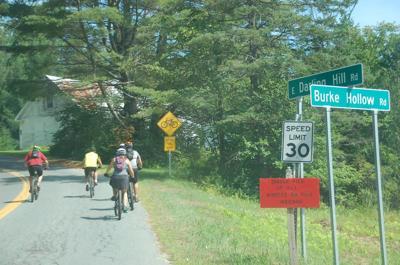 Single File Biking Ordinance Explored In Burke