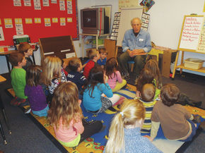 Author David Martin visits Sutton School