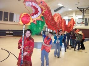 Miller's Run School Celebrates Chinese Year Of The Dragon