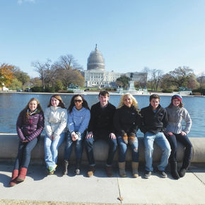 NCCC DECA students attend conference in DC