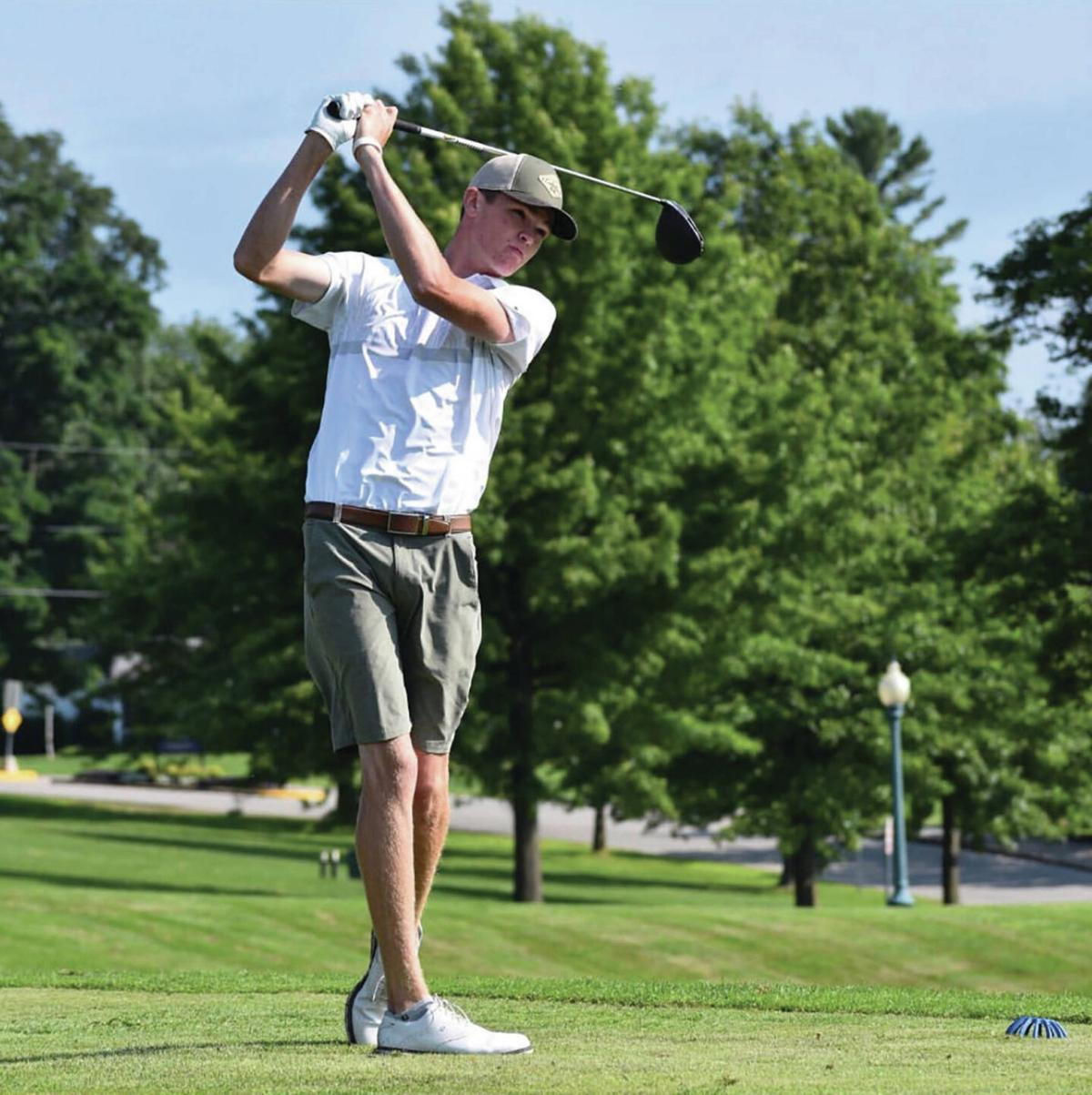 Newport CC's Giroux Tops 1st Day of Junior Tournament