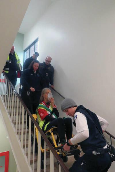 Northeastern Vermont Regional Hospital and Community Partners Conduct Homeland Security Drill to Improve Emergency Evacuation