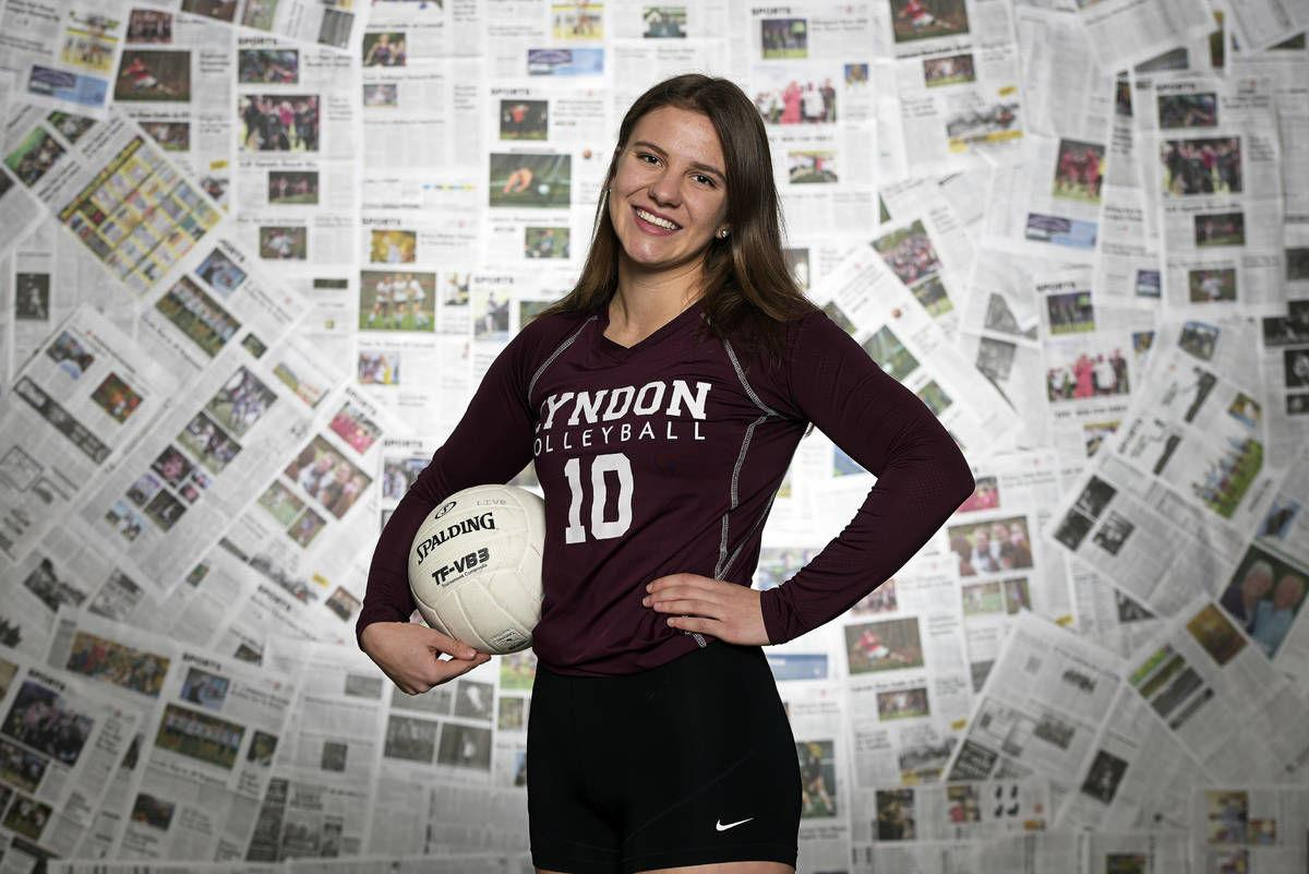 Lyndon Institute's Magdalena Voldrichova: The Record's 2019 Volleyball Player of the Year