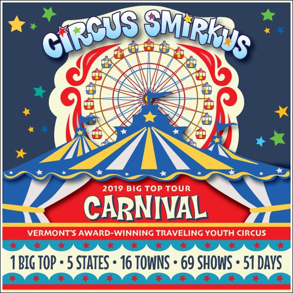 Circus Smirkus 2019 New England Tour