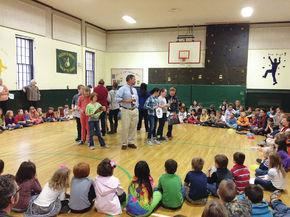 Newbury Elementary honors Veterans