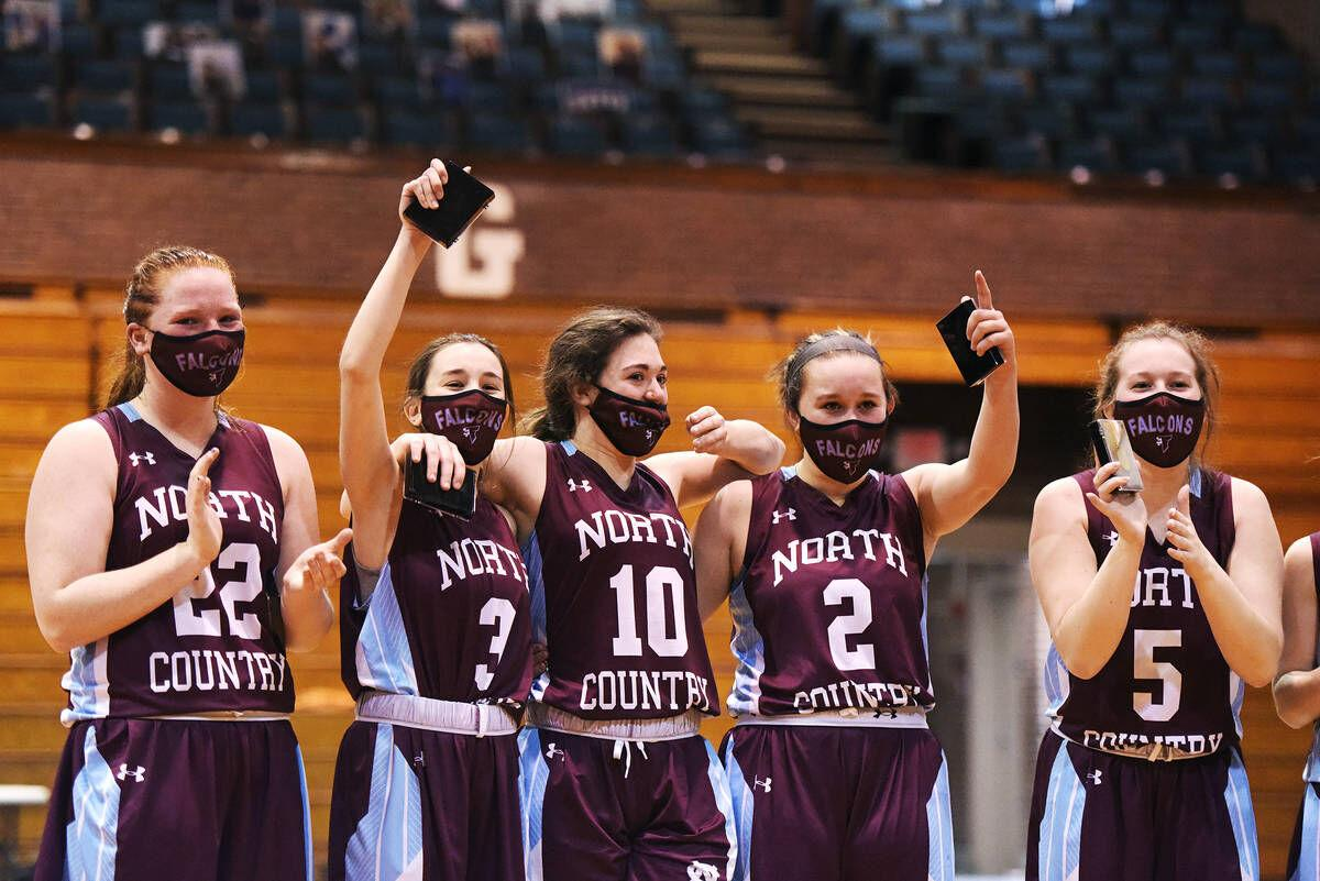 North Country Girls Soar To First Hoops Championship