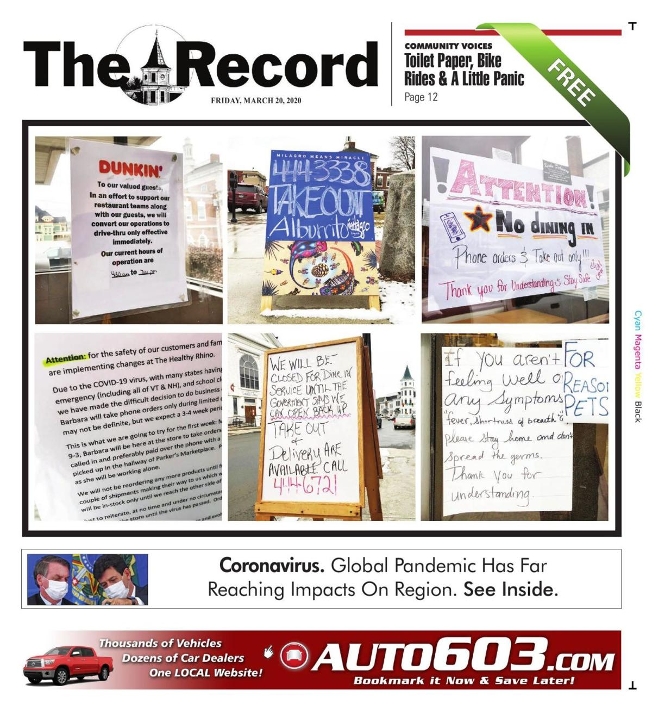 Littleton Record, March 20, 2020