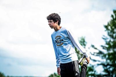 Virtual running: Evan Thornton-Sherman breaks North Danville record