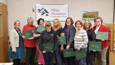 White Mountains Community College Graduates Eight LNA Instructors
