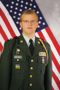 Cadet Thomas Schmidt Commands JROTC Battalion
