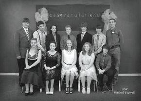 Thaddeus Stevens holds eighth-grade graduation