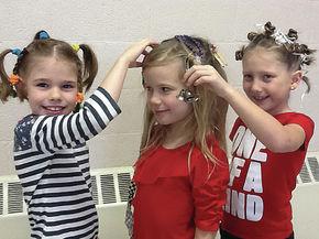 Crazy Hair Day at Lunenburg and Gilman schools