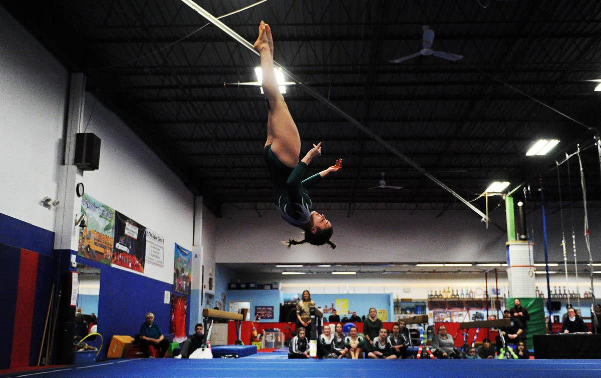 St. Johnsbury Academy's Lizzy Jones: The Record's 2019-20 Gymnast of the Year