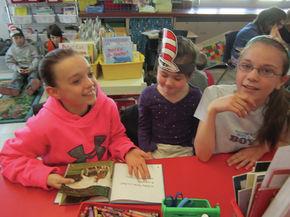 St. J Students celebrate Read Across America
