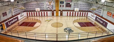 A Gift From Laura Ashton, Lyndon Unveils New Basketball Floor
