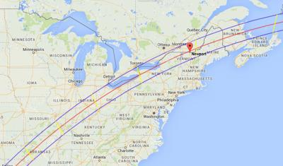History On The Horizon Northeast Kingdom Close To Path Of Totality