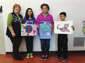Lakeway Elementary students entries chosen for Lions Club Peace Poster Contest