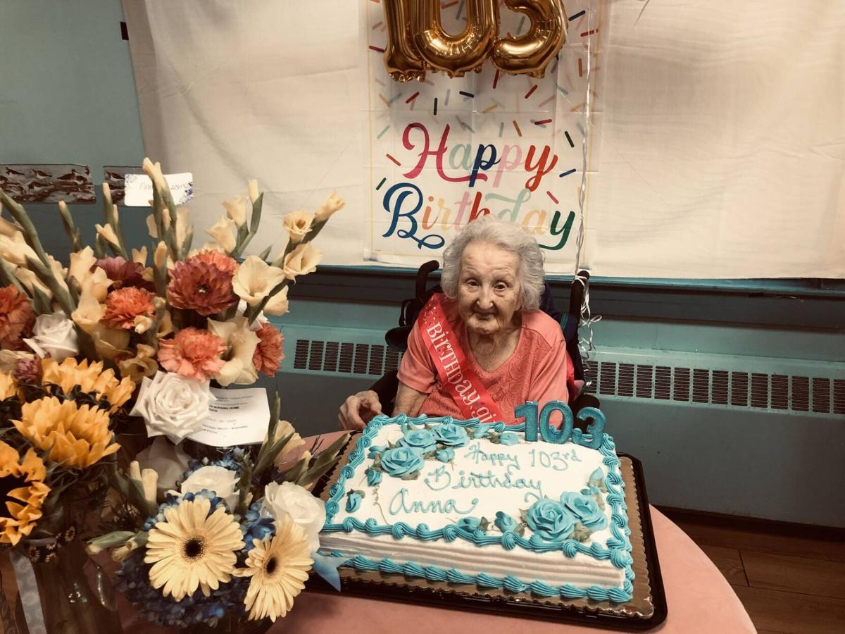 Boston Post Cane Presented To Whitefield's Oldest Resident