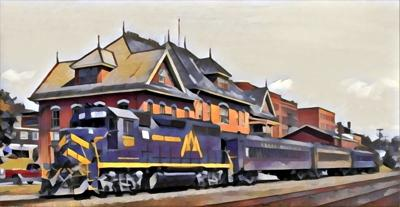 Train Rides Offered At Colors Of Kingdom Festival In St. Johnsbury