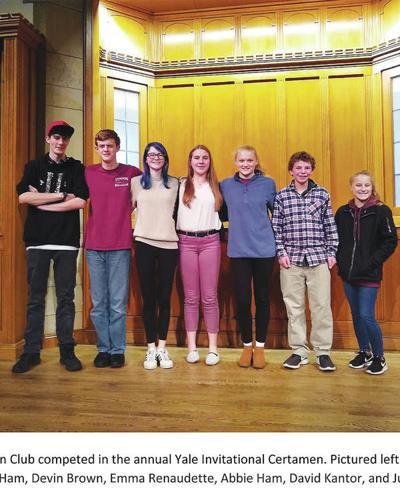 Lyndon Institute Latin Club Competes In Yale Invitational Certamen