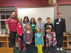 Lyndon Town School names Spelling Bee winners