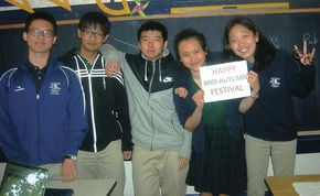 UCA Celebrates Mid-Autumn Festival With Chinese Students