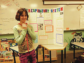 Students Exhibit Special Projects At Learning Showcase
