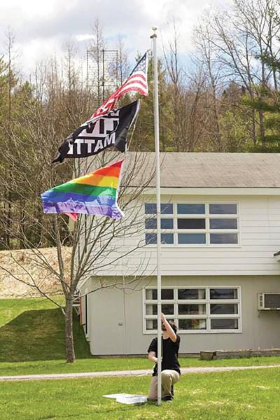 Year In Review: Cabot School Flies Pride, Black Lives Matter Flags