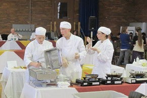 Academy Team Captures First Place In Statewide Culinary Competition