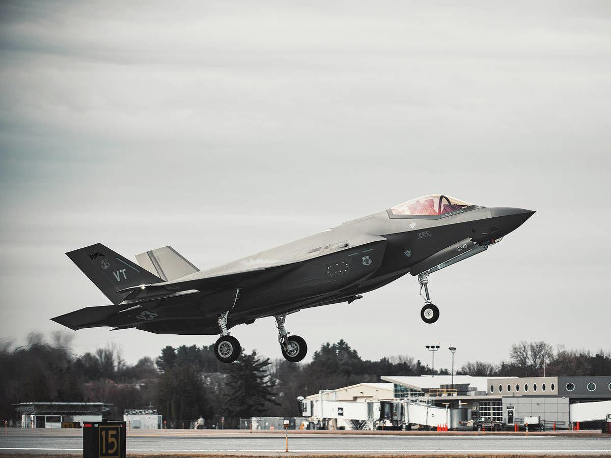 F35s Offering Sky-High Salute To Local Hospital Workers