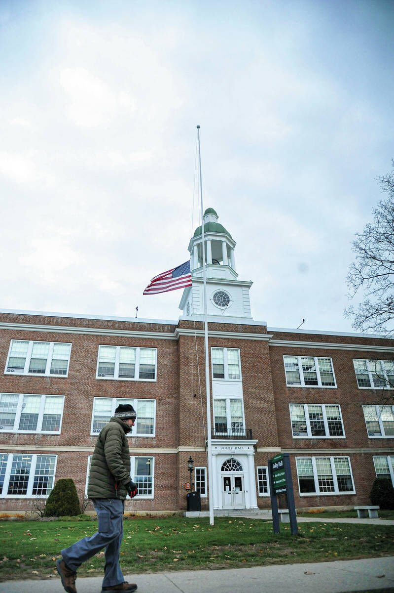 Flags Lowered To Honor COVID Victims