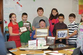 Groveton Elementary School honors Veterans