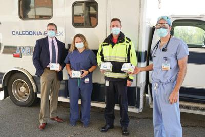NVRH Donates Reusable Envo® Mask To Local EMTs