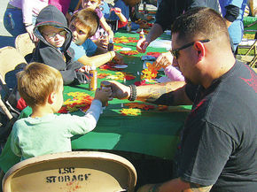 Head Start students participate in Burke Fall Foliage Festival