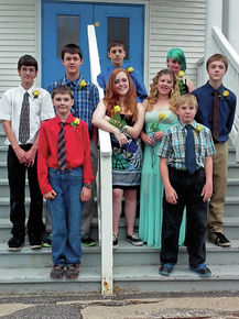 Gilman Middle School holds eighth-grade graduation