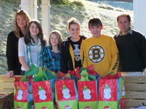 Charleston Elementary School Adopts Moretown Elementary School For The Holidays