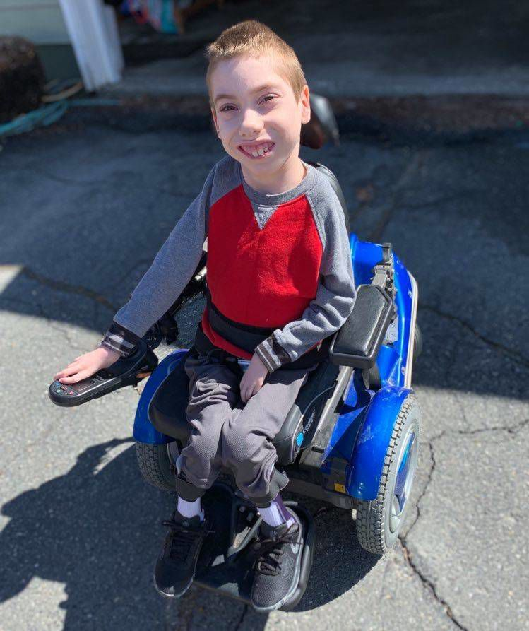 Fourth Grader Equipped To Overcome New Challenge
