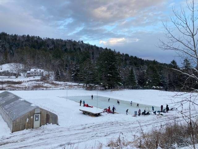 Barnet Farm Builds Rink To Keep All-Girls Hockey Club Running