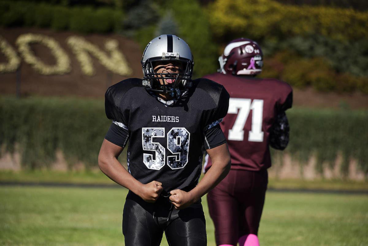 PHOTOS: Lyndon Vikings vs. Rodliff Raiders (youth football)