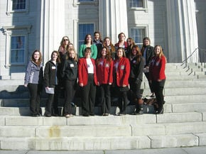 NCCC SkillsUSA Chapter Members Attend Fall Leadership Conference