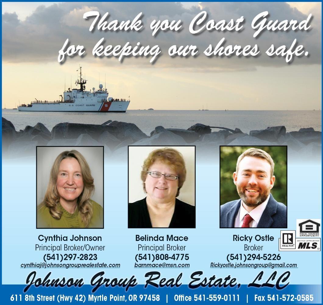 Salute USCG Johnson Group