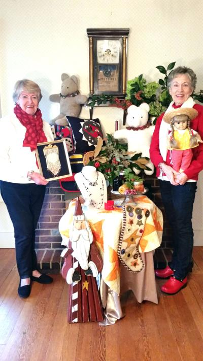 Holiday treasures at Butterfield Cottage