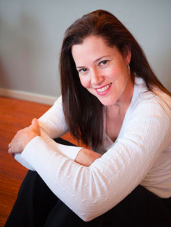 Author Ingrid Thoft at the Hoffman Center