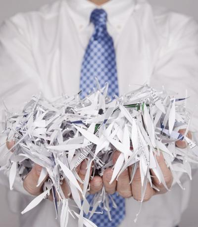 Local credit union hosts Shred Day
