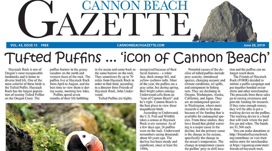 CBG E-Edition for 6-28-19 | News | cannonbeachgazette com